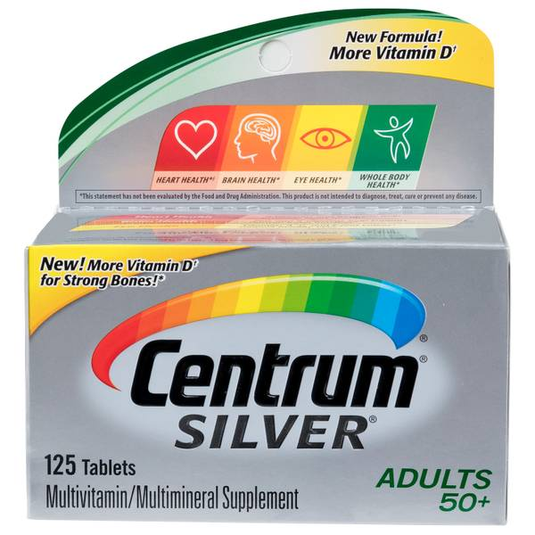 Centrum Silver Vitamin Supplement Tabs