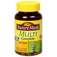 Nature Made Multi Complete with Iron Tablets