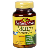 Nature Made Multi for Him 50+ Dietery Tablets
