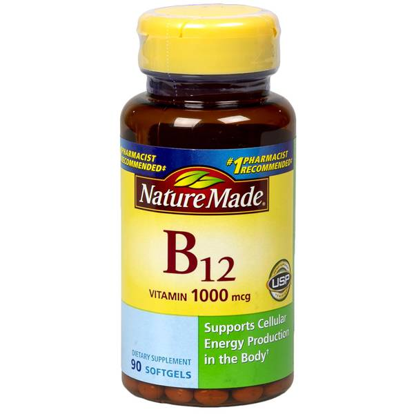 Nature Made Vitamin B-12 Softgels