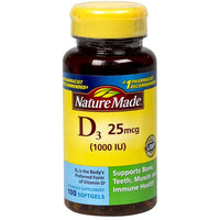 Nature Made Vitamin D3 Tablets