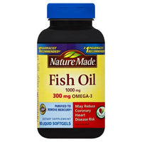 Nature Made Fish Oil Omega-3 Softgels