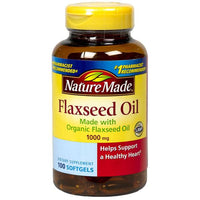 Nature Made 1000 mg Flaxseed Oil Liquid Softgels