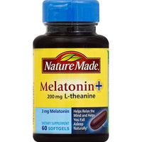 Nature Made Melatonin + L-theanine  Softgels