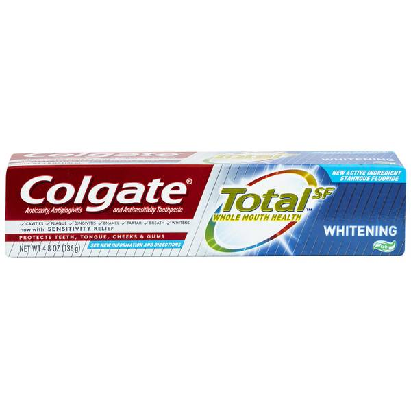 Colgate Total Whitening Gel Toothpaste