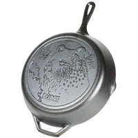 Lodge Wildlife Series with Bear Logo Skillet