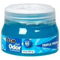 Tech 14 oz Triple Fresh Gel Odor Eliminator