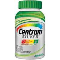 Centrum 220 Count Adult 50+ Silver Vitamin Tablets