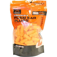 Walkers 50 Pair Bag Foam Ear Plugs