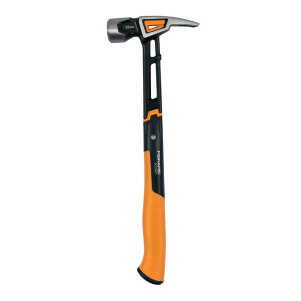 Fiskars 28 oz Milled Face Framing Hammer