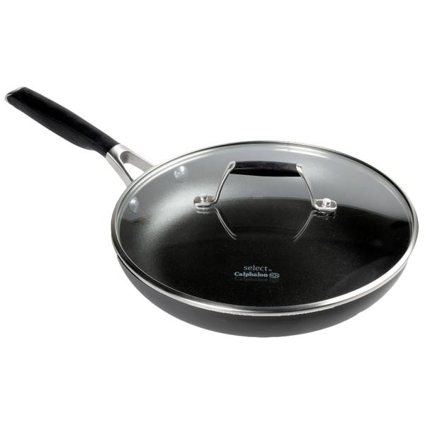 "Calphalon Select 10"" Hard Anodized Covered Fry Pan"