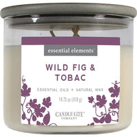 Candle-Lite 14.75 oz Wild Fig & Tobac Candle