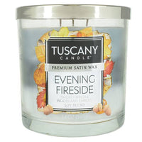Tuscany Candle 14oz Evening Fireside Candle