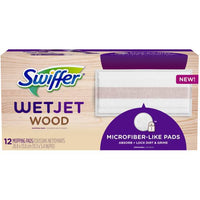 Swiffer 12-Pack WetJet Pad Wood