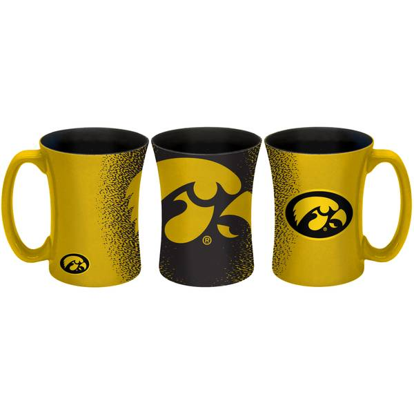 All Star Sports Iowa Hawkeyes 14 oz Mocha Mug