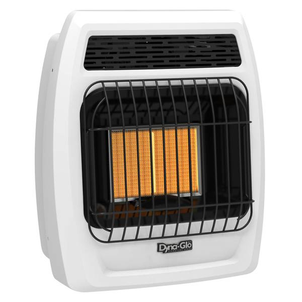 Dyna-Glo 12,000 BTU Natural Gas Infrared Vent Free Heater with Thermostat