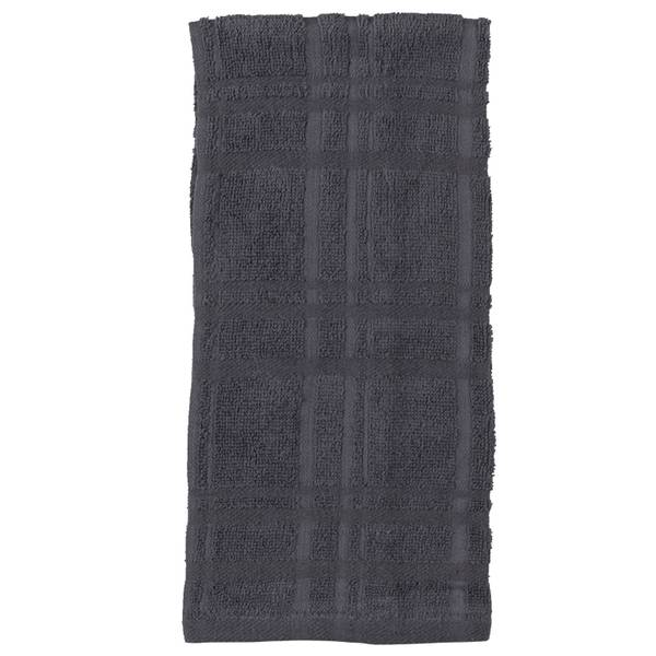 Kay Dee Designs 2 Piece Charcoal Terry Towel Set