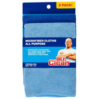 Mr. Clean 2-Pack Microfiber Cloths