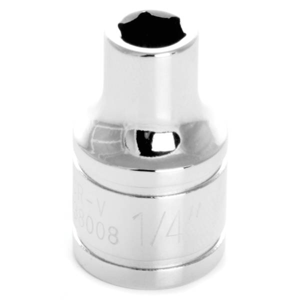 "Performance Tool 3/8"" Drive 1/4"" 6 Point Socket"