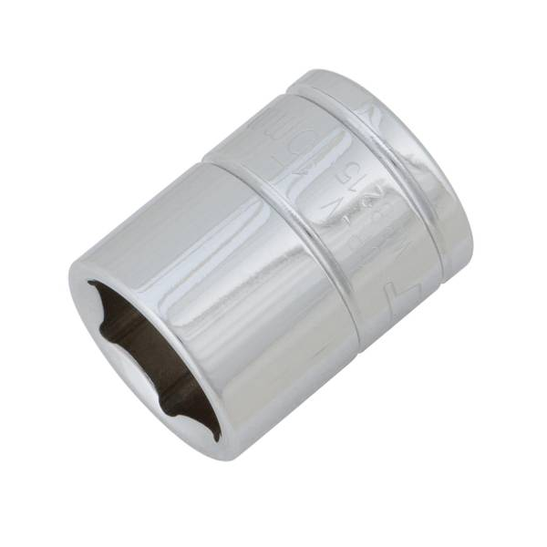 "Performance Tool 3/8"" Drive 15mm 6 Point Socket"