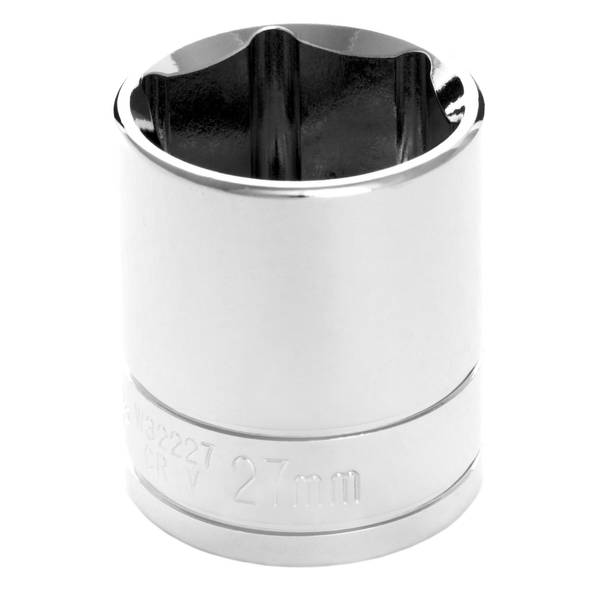 "Performance Tool 1/2"" Drive 27mm 6 Point Socket"