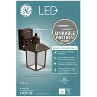 GE LED+ Linkable Motion System Soft White 60-Watt Replacement Coach Light