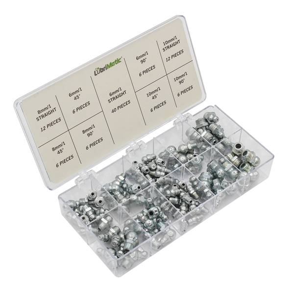 Plews Fitting Grease Metric Assortment