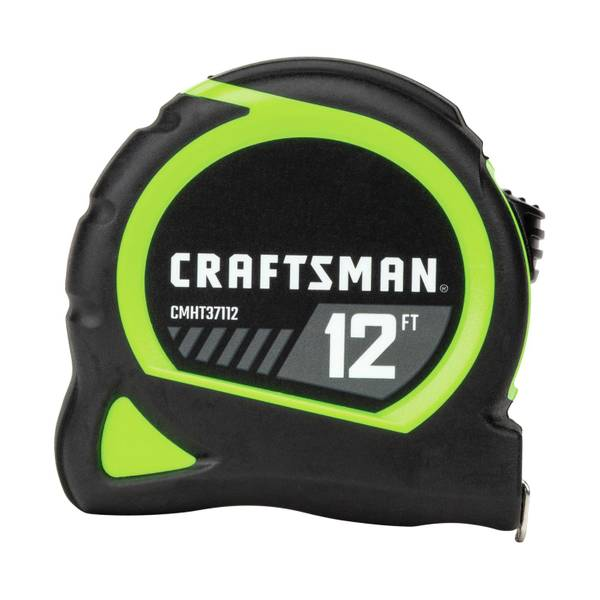 Craftsman 12' Hi-Vis Tape Measure