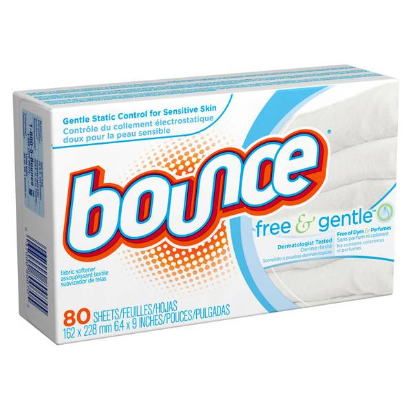 Bounce Free & Sensitive Dryer Sheets