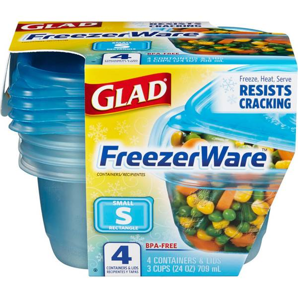 Glad FreezerWare Container