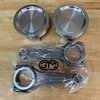 GTM 1380 Pistons - Carrillo Rods