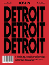 LOST iN Detroit Travel Guide