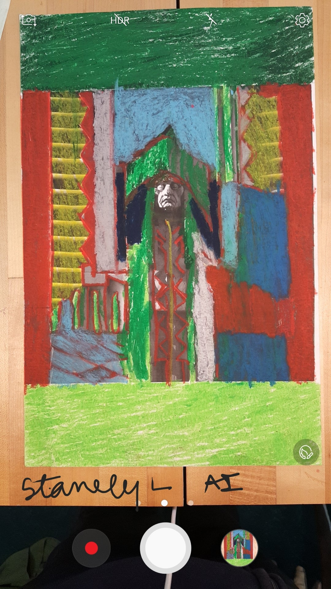 STEP #12 (Penobscot Indian Green-Red)