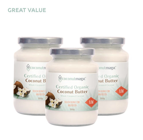 3 x Organic COCONUT BUTTER