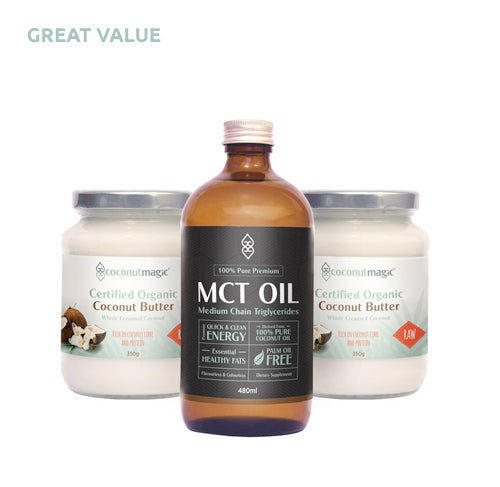 MCT Oil + 2 x Coconut Butter