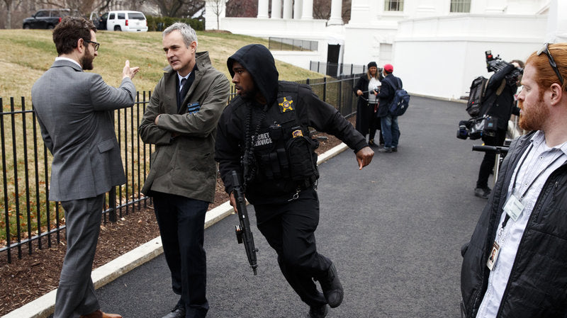 White House Briefly Put On Lockdown After Driver Hits Security Barrier