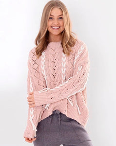 My Pink Affair Knit - Leesie