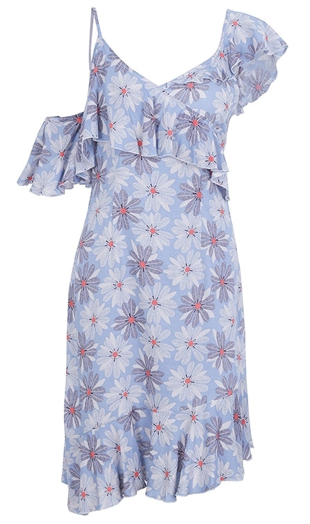 Paint Me Pretty Floral Dress - Leesie