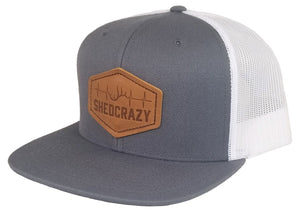 Date Hat Charcoal/White