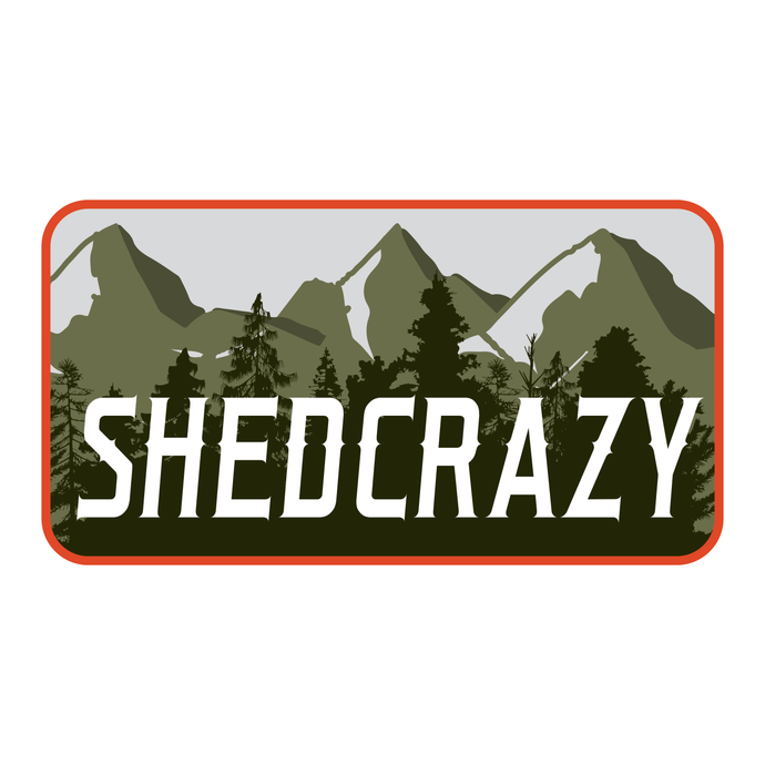 The Shedcrazy Sticker