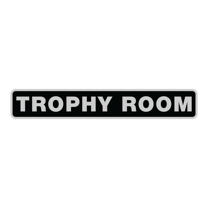 The Trophy Room Sticker