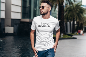 Heavily Meditated - Mens T-Shirt