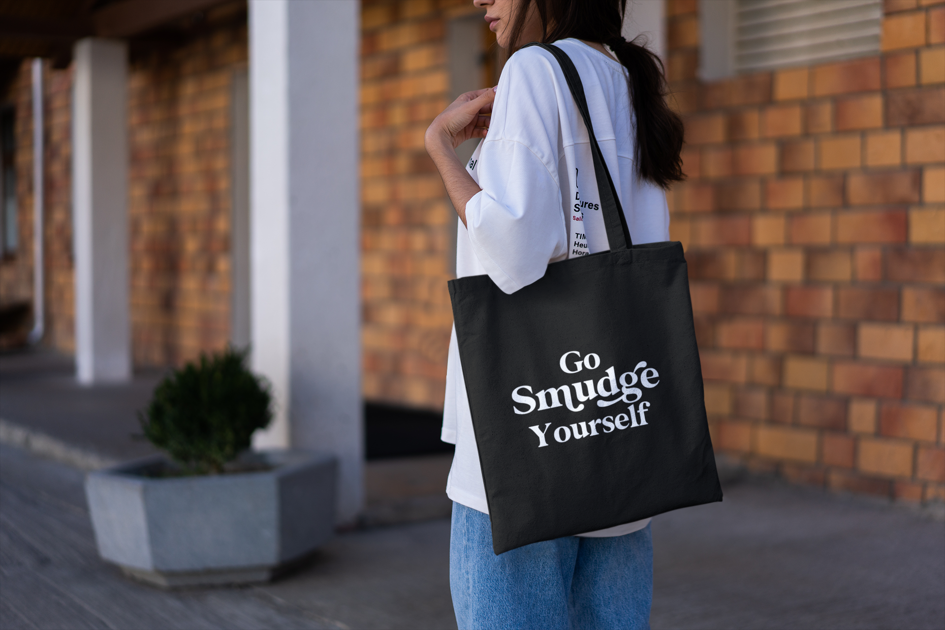 Go Smudge Yourself - Tote