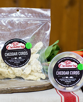 Cheddar Curds - Garlic Dill  *Local Pickup Only*