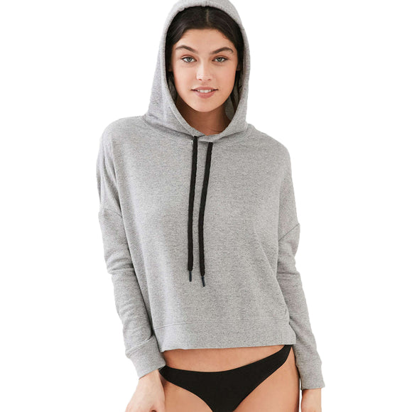 Autumn Women's Pullovers Hooded Long Sleeve Casual Sportes Sweatshirt Fitness Jacket Women Sweatshirt Clothes