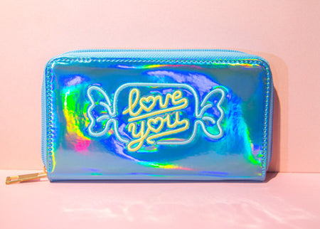 Love You Hologram Wallet