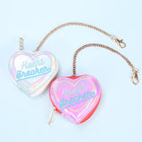 Heart Breaker Coin Purse Bag Candy
