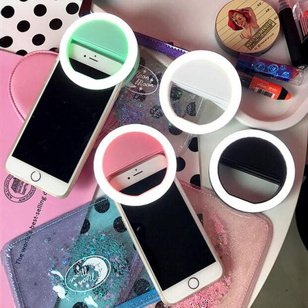Selfie Kween LED Mini Ring Light