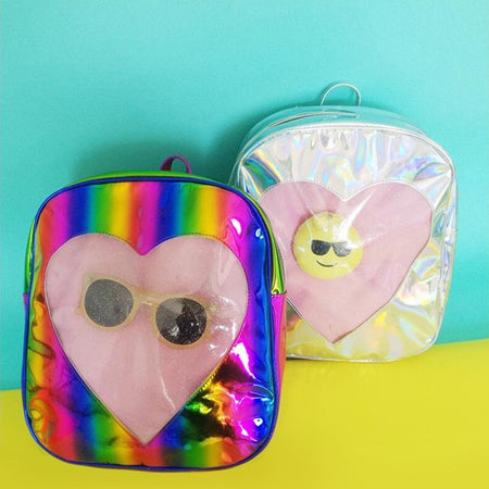 Heart of Glass Holo Backpack