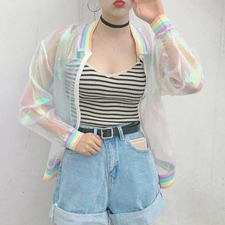 Voyager Iridescent Rainbow Jacket
